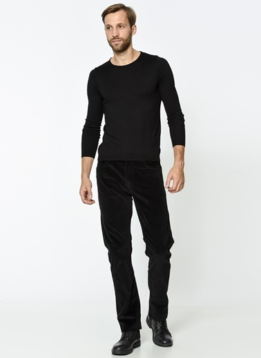 Lee Cooper Kadife Pantolon | Harry - Straight Siyah